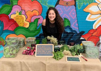 community supported agriculture table