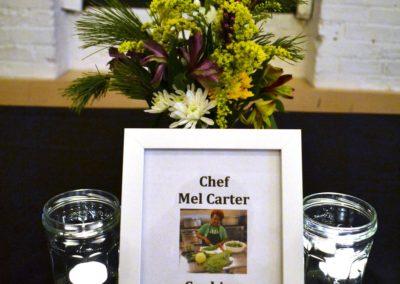 growing together fundraiser chef mel carter