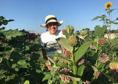 volunteer on farm